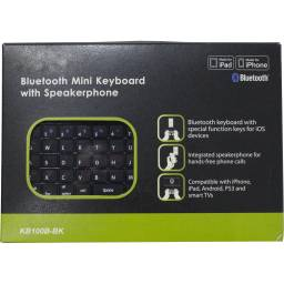 MIni Teclado Bluetooth con Altavoces y Micrófono