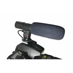 Microfono Estereo para camara DSLR / Reflex Entrevistas Grabacion