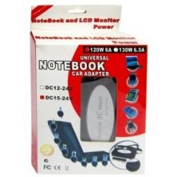 Cargador universal para Notebook Laptop 130W de 15V a 24 V 4-5.5A LD13065