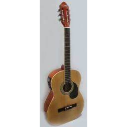 Guitarra Criolla Clasica con Afinador Ecualizador  FEVER FGC-30