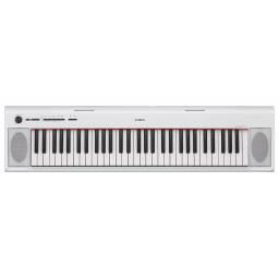 Teclado / Organo / Piano Yamaha NP-12 WH 61 teclas (Blanco)