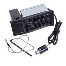 Pickup Micrófono Fever Pre Amplificador para Guitarra Criolla Acustica eq-7545