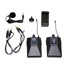Microfono de solapa inalambrico para celulares y DSLR GCM Pro Line