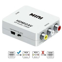Conversor Adaptador de HDMI digital a Video análogo AV2 HDMI-AV2