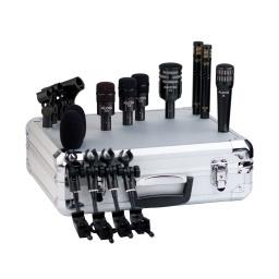 AUDIX DP7 Kit de 7 microfonos para bateria percusion