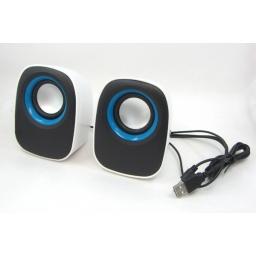 Parlantes 2.0 Portables Multimedia para PC Notebook G-106