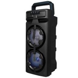 PARLANTE PORTATIL FM / USB / BLUETOOTH / LED LIGE-M2