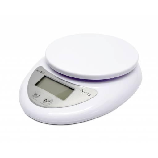 Balanza de Cocina Electrónica Digital de 1gr hasta 5Kg!