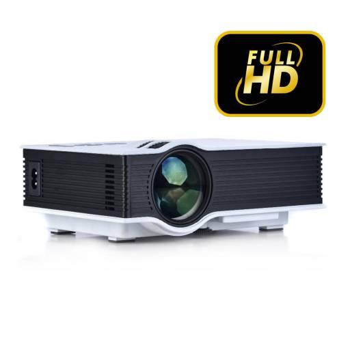 Mini Proyector Led Full Hd Portátil G40+ 1080P VGA AV HDMI 1200 ANSI