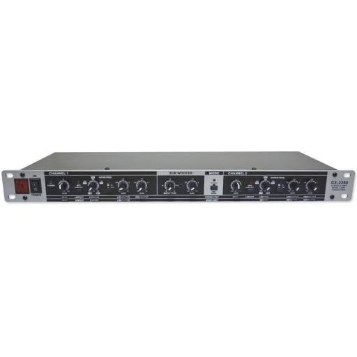 Crossover Divisor de Frecuencia GX-2300 2 Vías Estereo 3 Mono