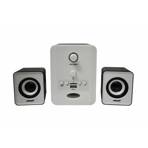 Home Theater 2.1 D-223 Estéreo USB, Bluetooth, FM y SD