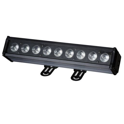 Barra Bañador LED 9 x 10W RGBW para exteriores / Intemperie IP66 GCM Pro Line
