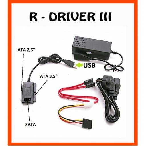 Adaptador USB 2.0 a Sata Ide 2.5 y 3.5