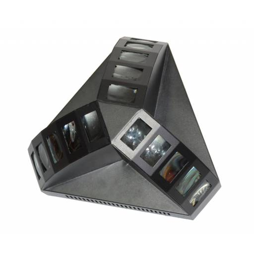 Efecto LED Trident RGB DMX512 / Audiorritmico / Automatico GCM DJ Line