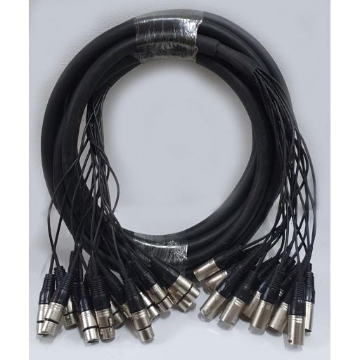 Snake Medusa / Cable / Conexión 16 Canon macho a 16 CANON hembra 3 Metros