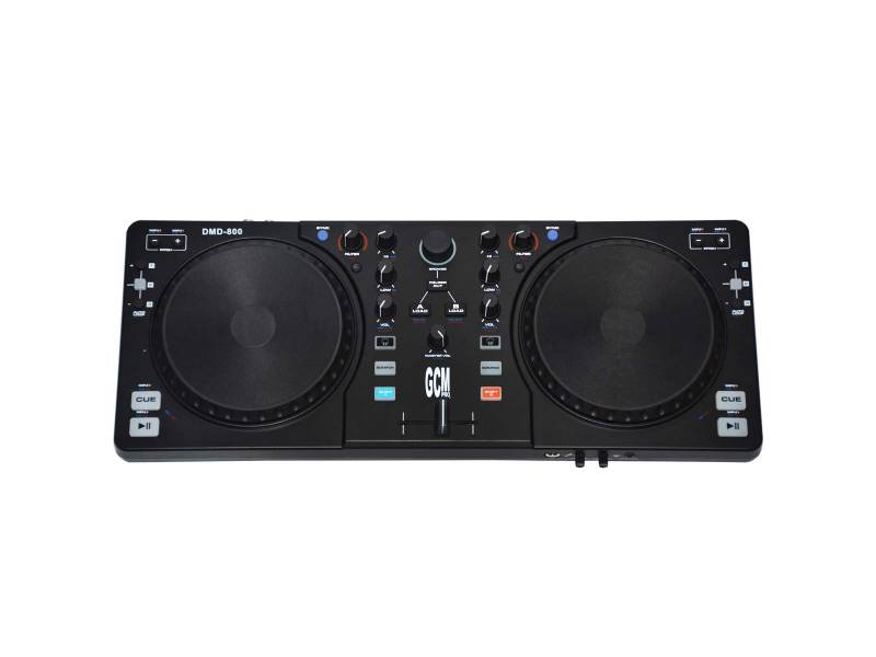 Controlador parar DJ Profesional Midi Con Ruedas De Scratch