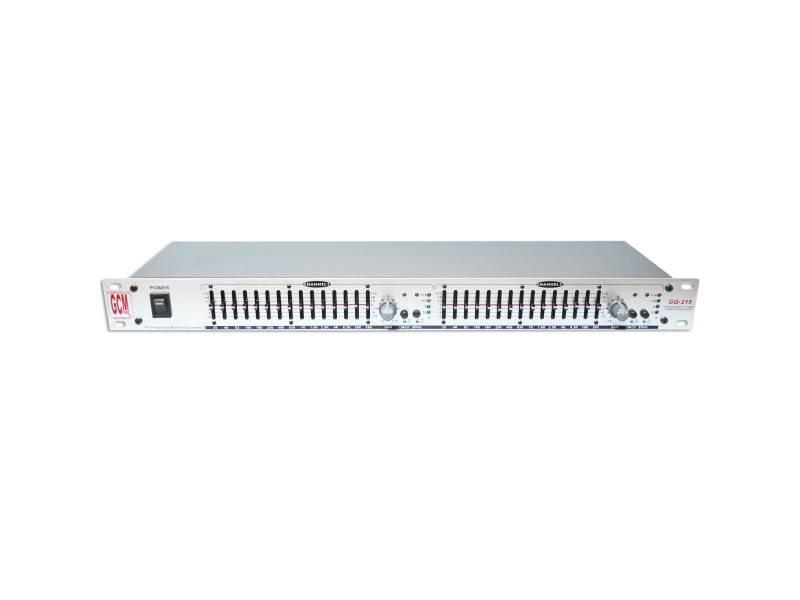 Ecualizador Profesional 15+15 GQ-215 Gcm Pro