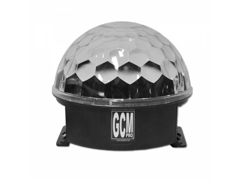 Magic Cristal Ball Económica LED CB002 Audiorritmico GCM Pro