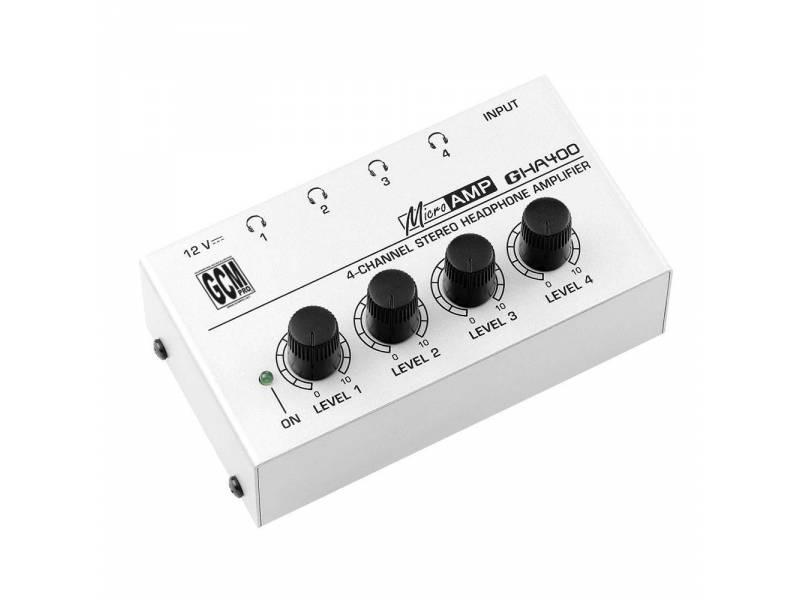 Amplificador / Auricular Potencia Para Auriculares GHA400 Microamp Gcm Pro