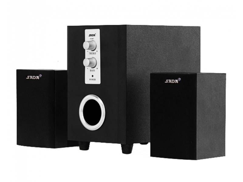 Home Theater 2.1 D-200T IDEAL para amplificar TV Excelente sonido