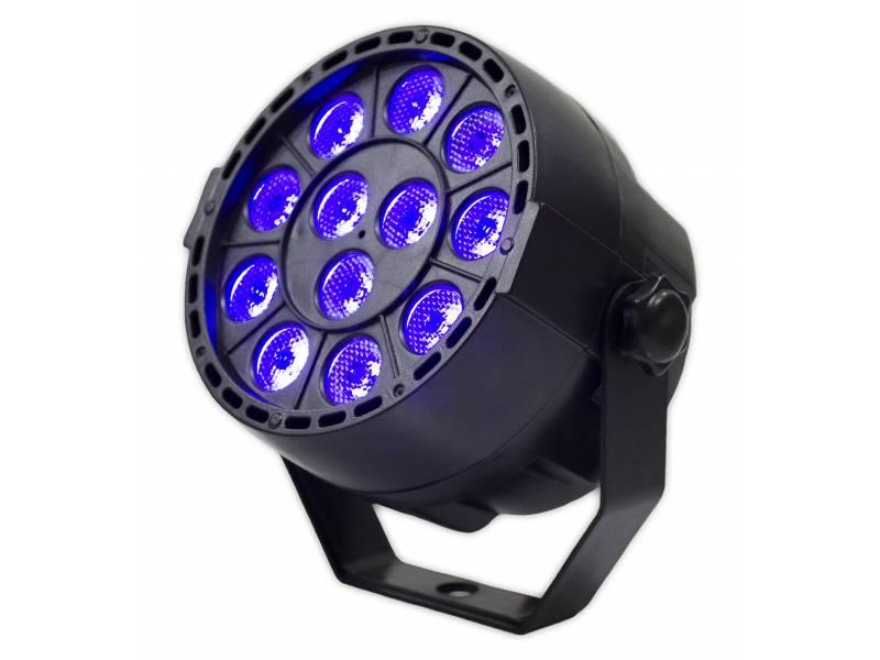 Tacho Par led UV Luz Negra GCM LP12UV DMX