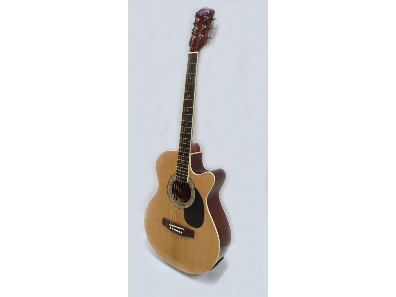 Guitarra Electro Acustica con Afinador Ecualizador FEVER FGA-4039