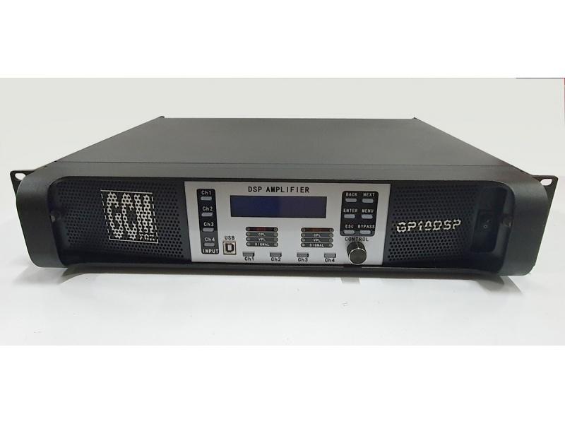 Potencia Digital GCM-PRO con DSP integrado GP-10DSP 10000W 4 canales