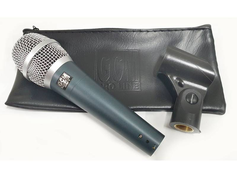 Microfono Vocal dinamico para uso Profesional GCM PRO LINE GM1 BETA