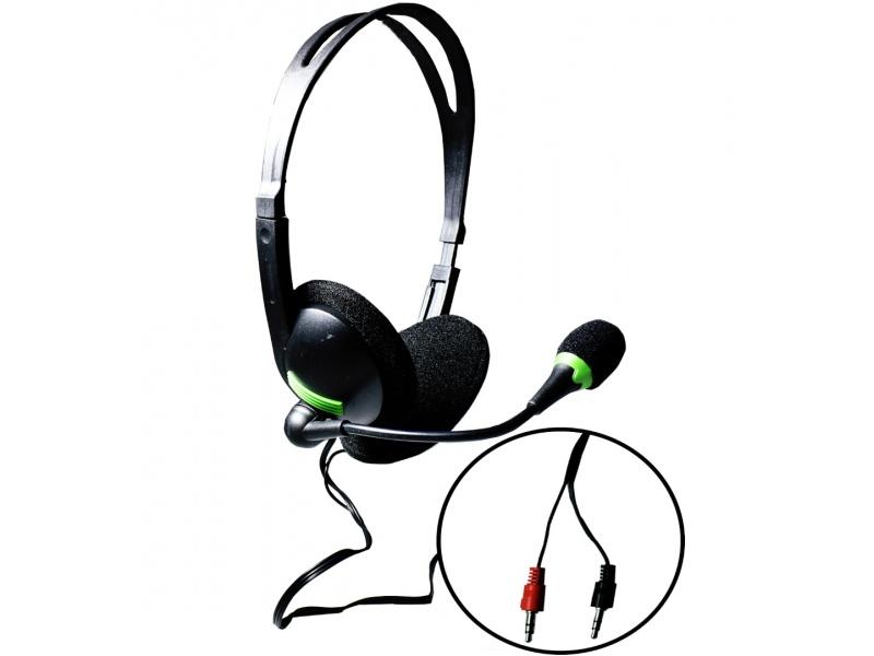 Auricular Gamer 2 PLUG con microfono para pc o notebook MBL-440