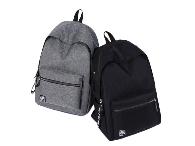 Mochilas bolso para notebook con cable cargador celular en tela resistente