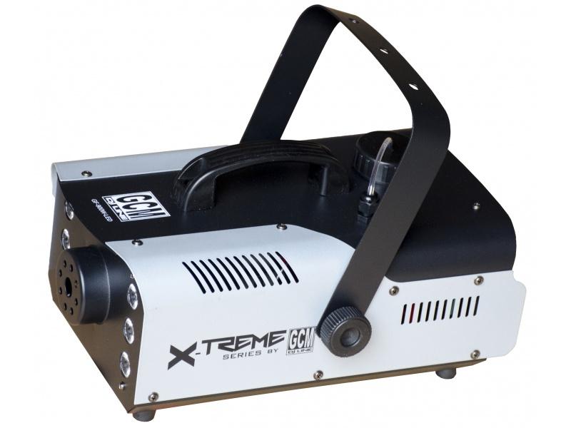 X-TREME Maquina de Humo LED de 900W GF-900W-LED + Control Remoto GCM Pro